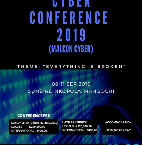 MALAWI CYBER SECURITY CONFERENCE 2019