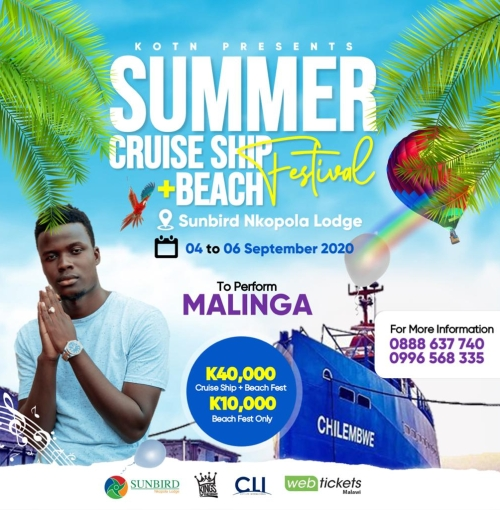 Summer Cruise Ship Plus Beach Festival