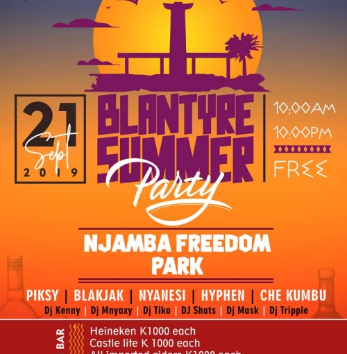 Blantyre Summer Party