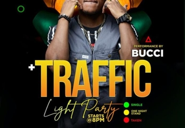 Traffic Light Party with Bucci