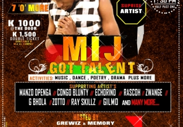 Malawi Institute Of Journalism Got Talent Show (Lilongwe Campus)