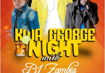 Kwa George night with B 1 Zambia