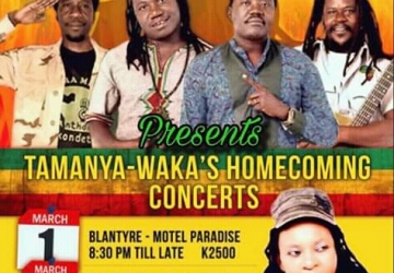 BLACK MISSIONARIES THROWS HOME COMING SHOWS FOR REGGAE ARTIST TAMANYA-WAKA